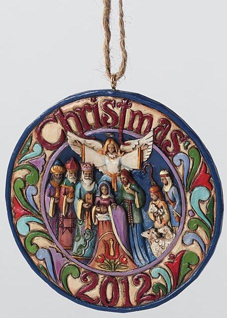Jim Shore 4027765 Christmas 2012 Ornament