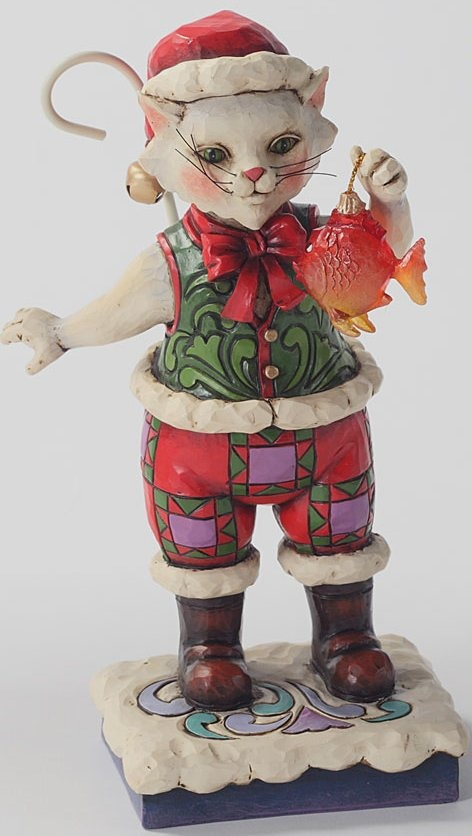 Special Sale 4027766 Jim Shore 4027766 Catch the Christmas Spirit Figurine