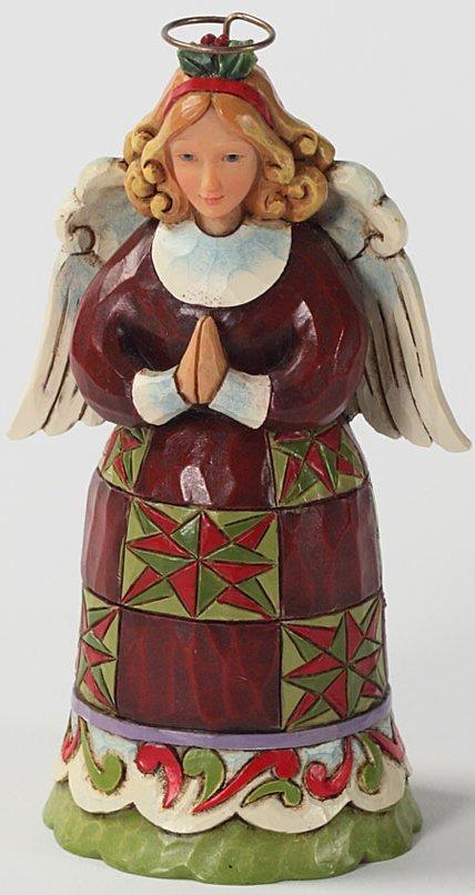 Jim Shore 4027768 Angel Praying Figurine