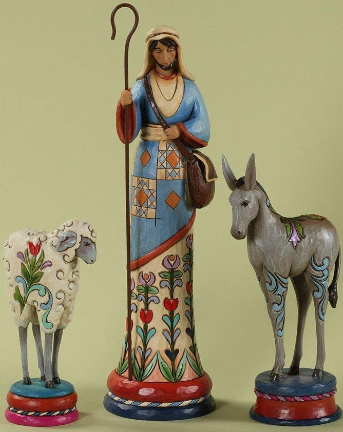 Jim Shore 4027779 Prayerful Protectors Figurine