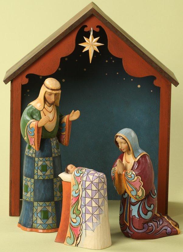 Jim Shore 4027784 Bethlehem's Holy Birth Figurine