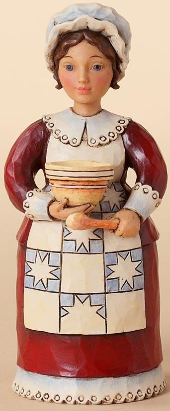 Jim Shore 4027804 A Feast it Shall Be Figurine