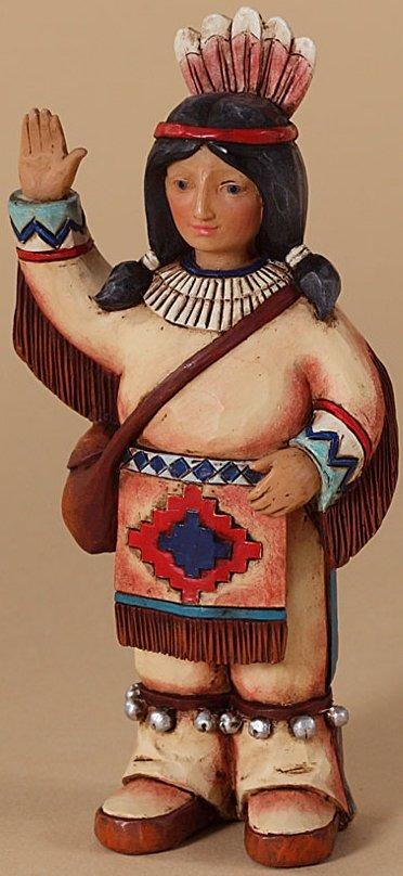 Jim Shore 4027806 Indian Figurine