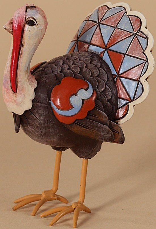 Jim Shore 4027807 Turkey Figurine