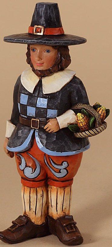 Jim Shore 4027808 Pilgrim Figurine