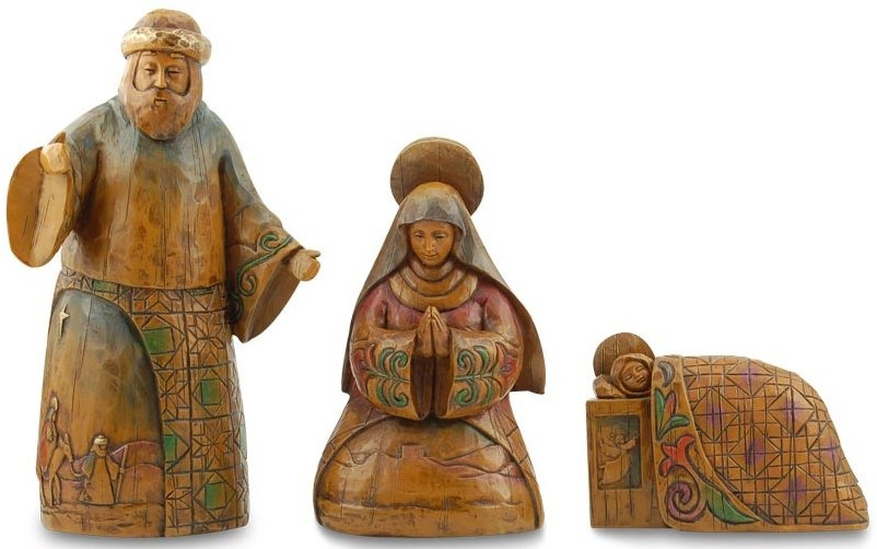 Jim Shore 4027830 Joy to the World Figurine