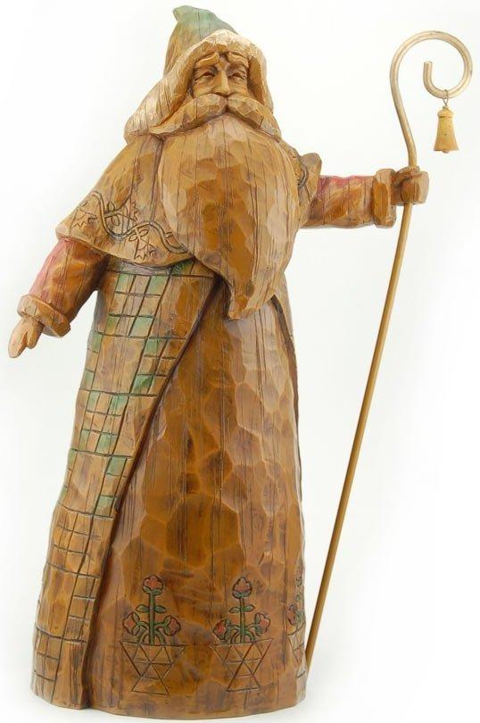 Jim Shore 4027837 Heritage Santa Cane Figurine