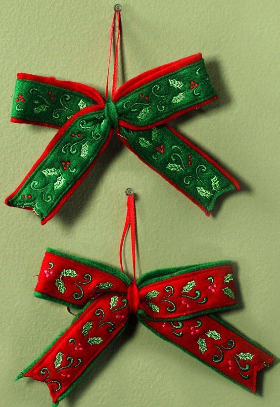 Jim Shore 4027869 Small Bows Hanging Ornament