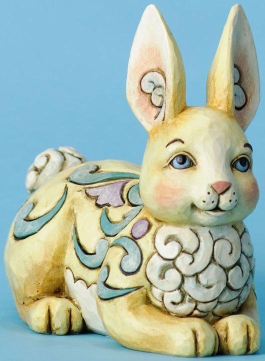 Jim Shore 4031212 Cute as a Cottontail Figurine