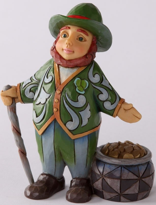 Jim Shore 4031216 Leprechaun Gold Figurine