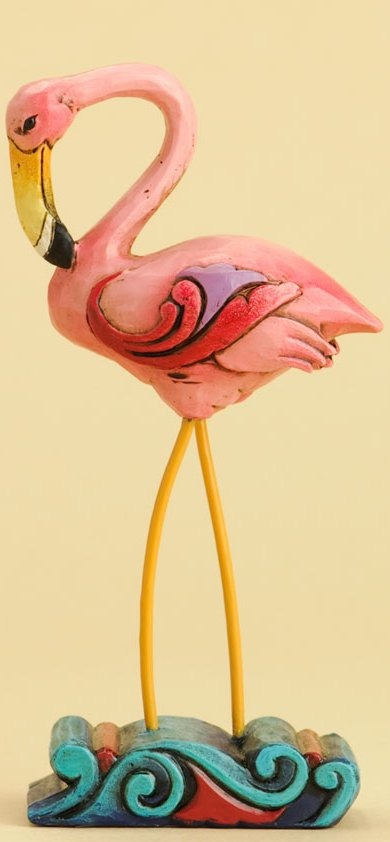 Jim Shore 4031235 Flamingo Figurine