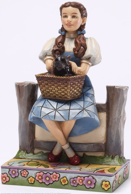 Jim Shore Wizard of Oz 4031509 I Keep Forgetting I'm not in Kansas Figurine