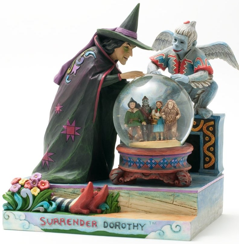 Jim Shore Wizard of Oz 4031513 Surrender Dorthy Figurine