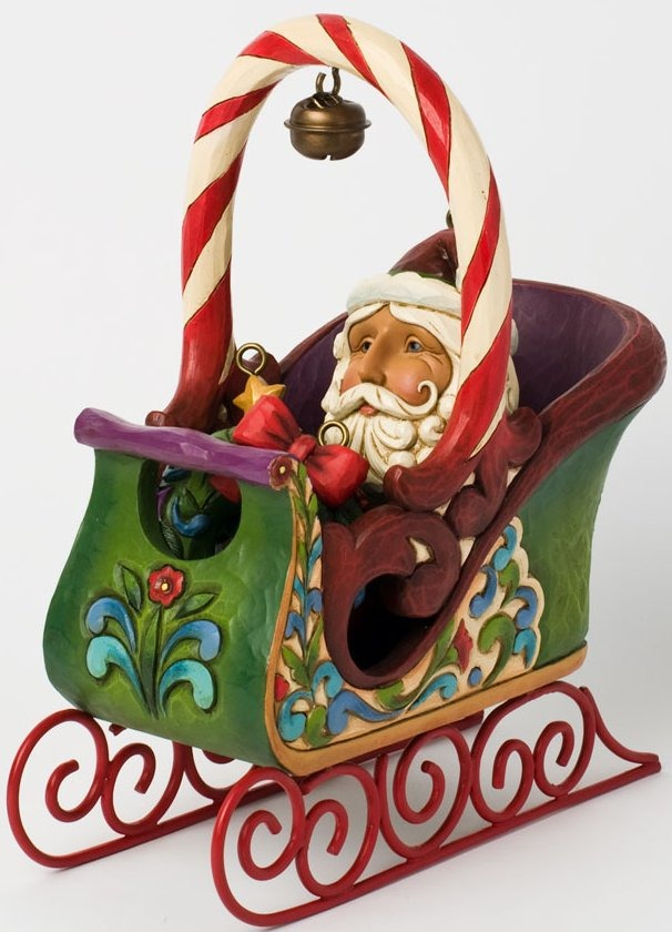 Jim Shore 4031689 Santa in Sleigh