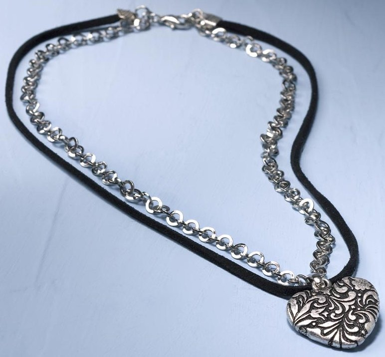 Jim Shore 4032487 Necklace Heart Necklace