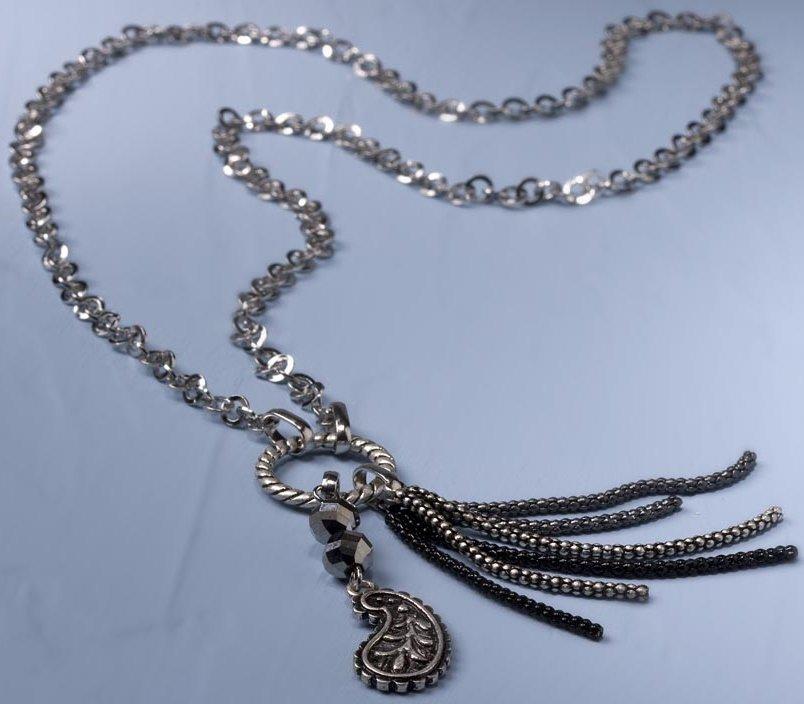 Jim Shore 4032488 Necklace Paisley Necklace