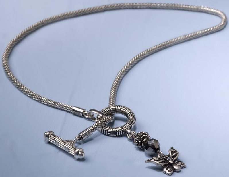 Jim Shore 4032495 Necklace Butterfly Necklace