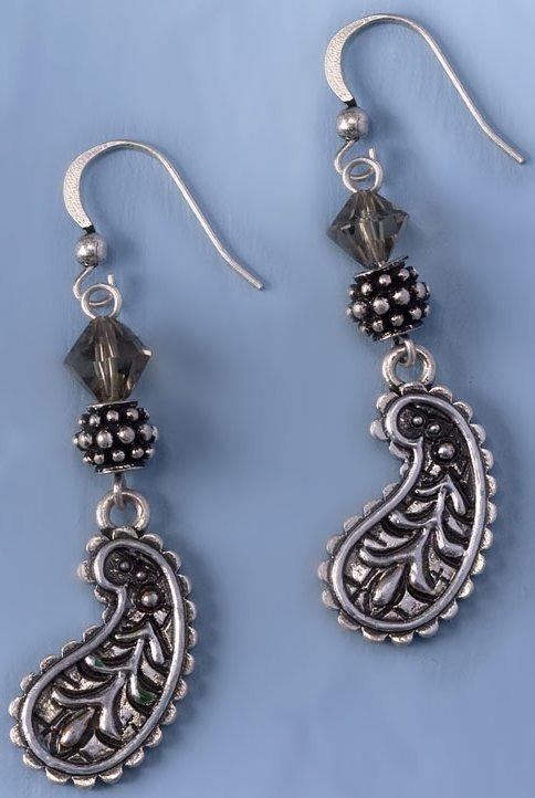 Jim Shore 4032502 Paisley Earrings