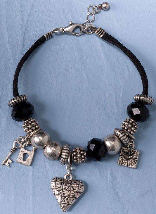 Jim Shore 4033294 Beaded Heart Bracelet Bracelet