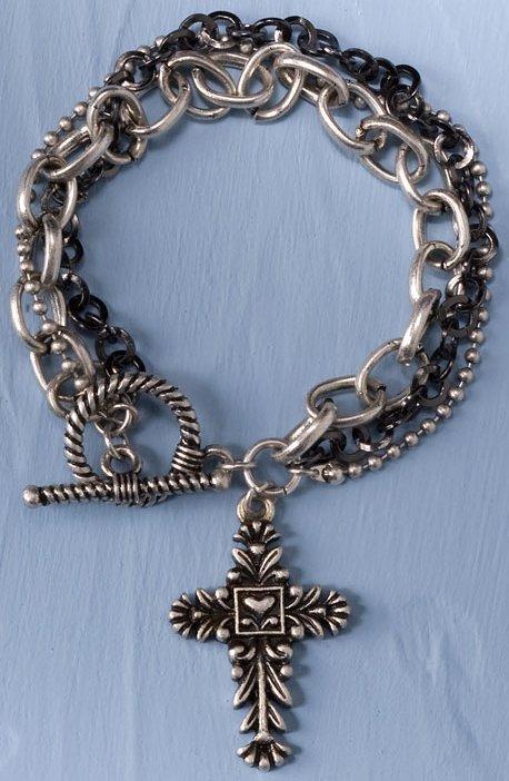 Jim Shore 4033299 Cross Bracelet Bracelet