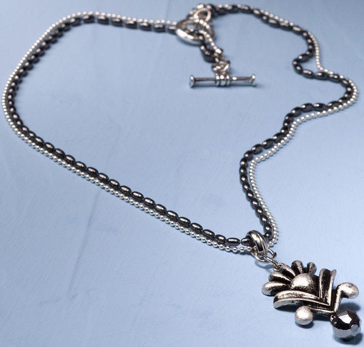 Jim Shore 4033534 Necklace Flower Bead Necklace