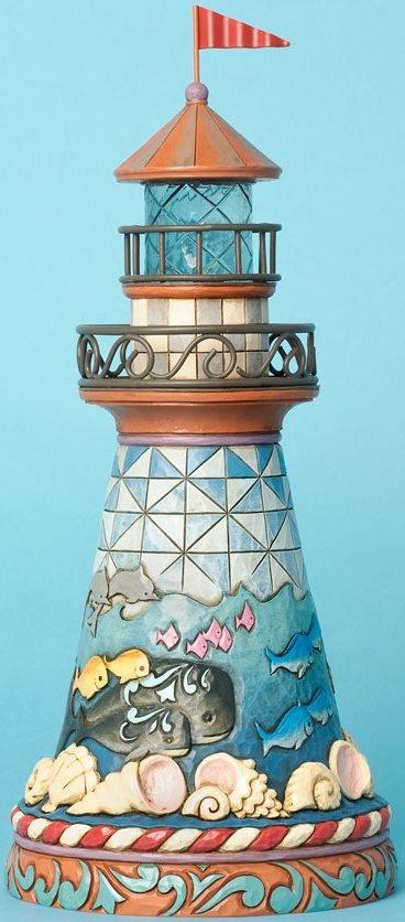Jim Shore 4033798 Coastal Scene Lighthouse Figurine