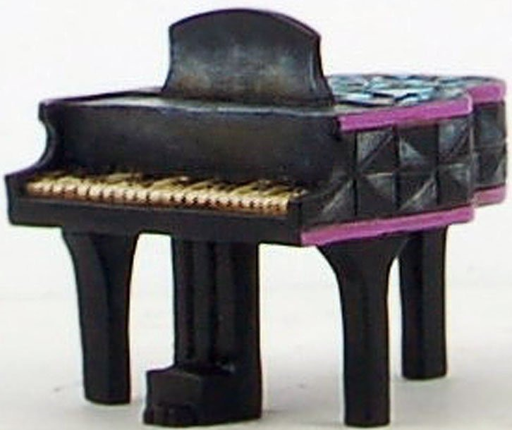 Jim Shore 4033808 Mini Piano Figurine