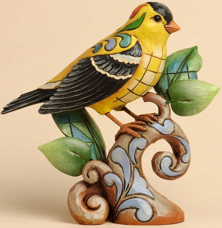 Jim Shore 4033814 Goldfinch Figurine