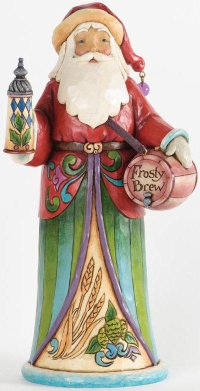 Jim Shore 4034360 Christmas Spirits Santa Figurine