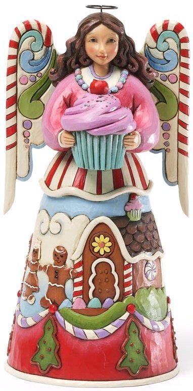 Jim Shore 4034379 Sweets Angel Figurine