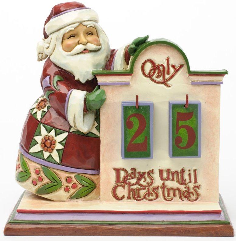 Jim Shore 4034389 Calendar Countdown to Christmas Calendar