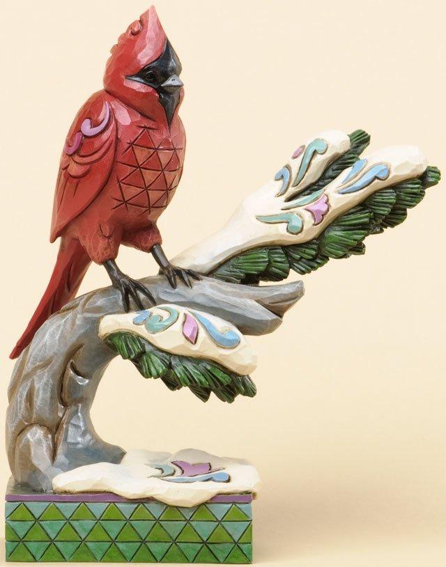 Jim Shore 4034390 Jingle Birds Cardinal Figurine