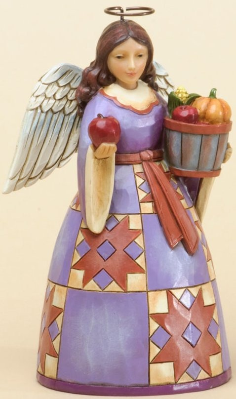 Jim Shore 4034447 Pint Sized Harvest Angel Figurine