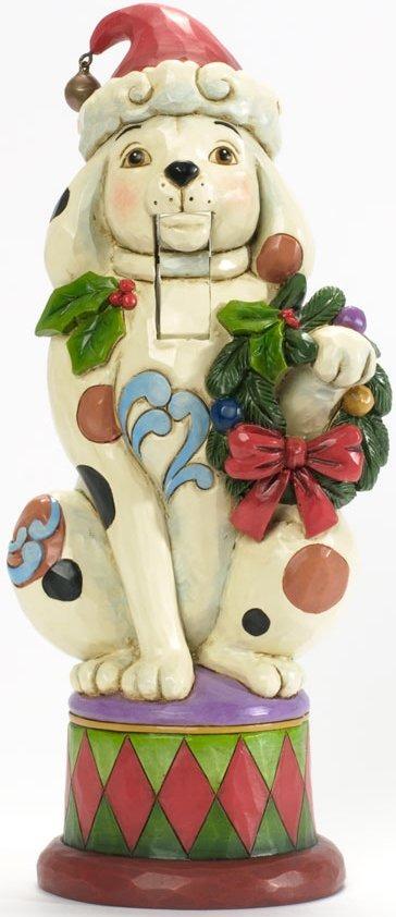 Jim Shore 4036687 Christmas Dog Nutcracker Figurine