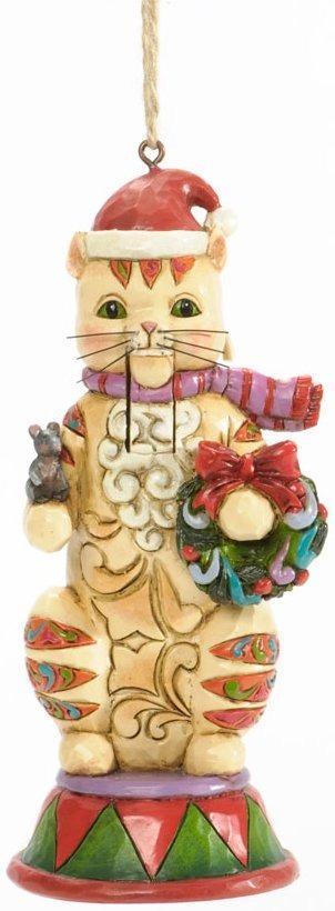 Jim Shore 4036689 Cat Nutcracker Hanging Ornament