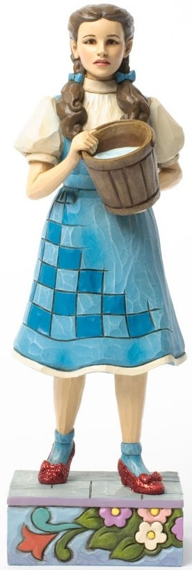 Jim Shore Wizard of Oz 4037531 Dorothy with Bucket of water Figurine