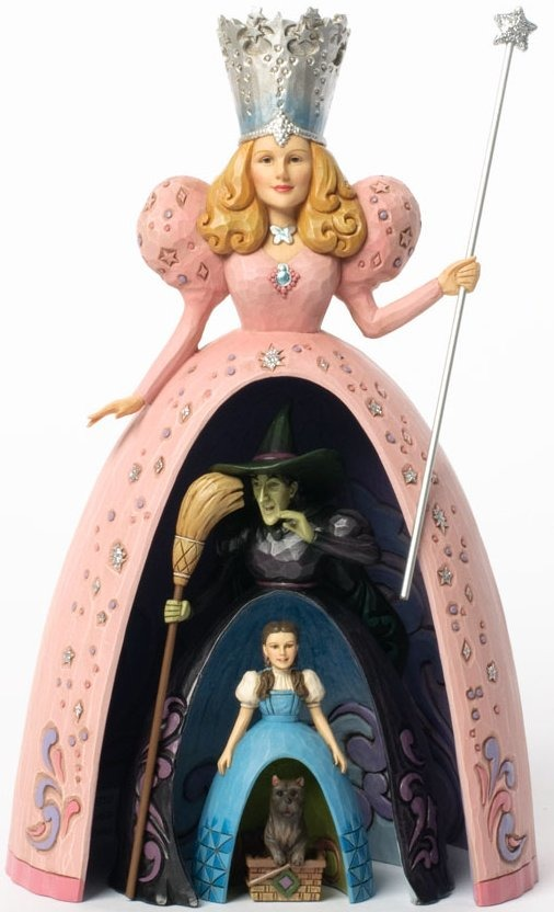 Jim Shore Wizard of Oz 4037533 Glinda the good witch Figurine