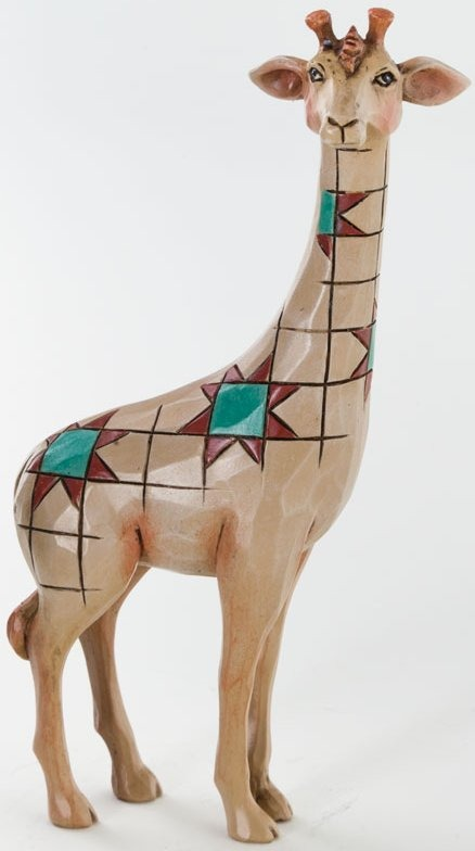 Jim Shore 4037661 Mini Giraffe Figurine