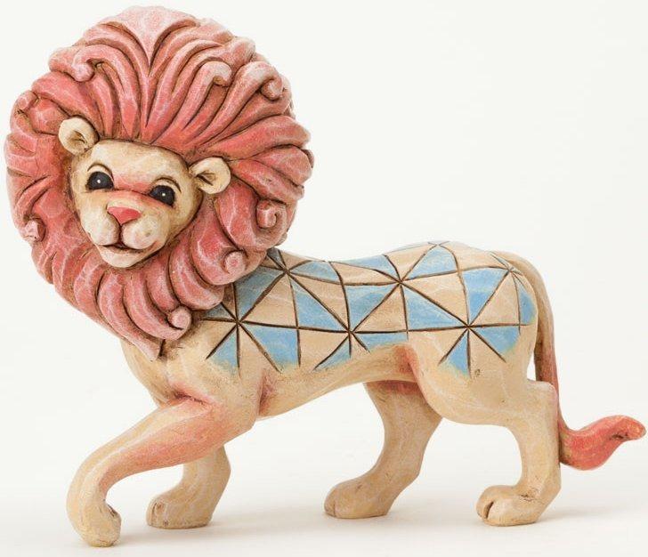 Jim Shore 4037662 Mini Lion Figurine