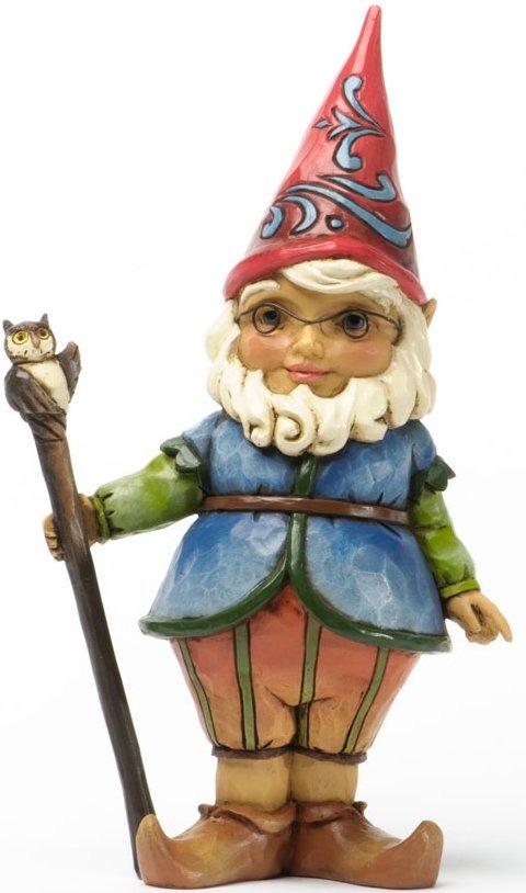 Jim Shore 4037671 Gnome Cane Figurine