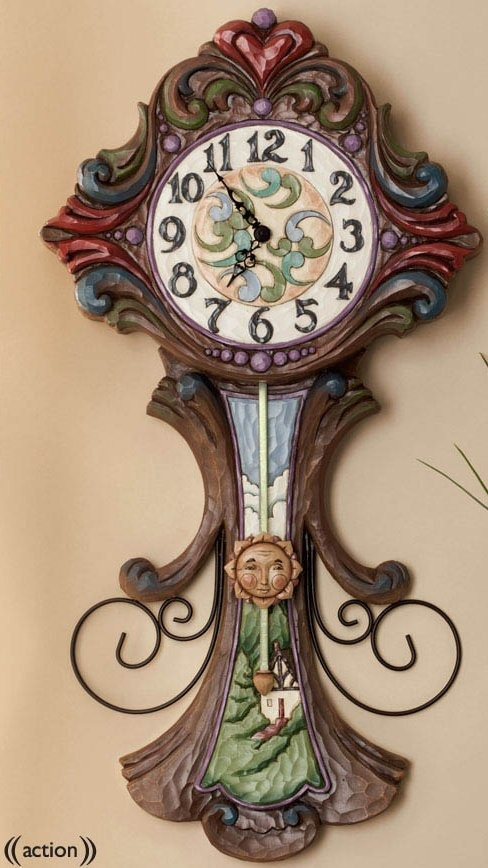 Jim Shore 4037673 Grandfather Clock