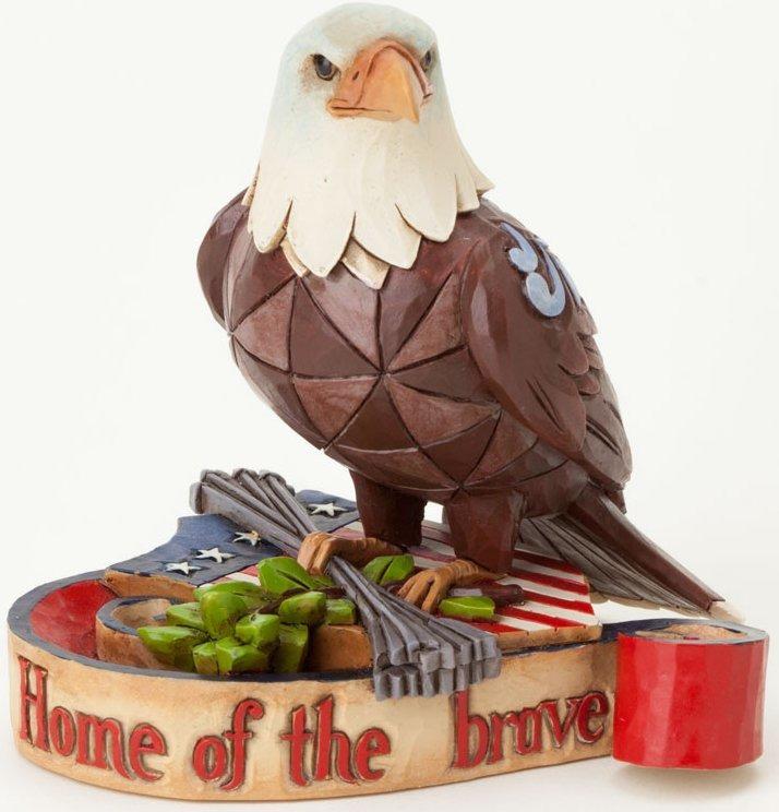 Jim Shore 4037682 Mini Patriotic Eagle Figurine