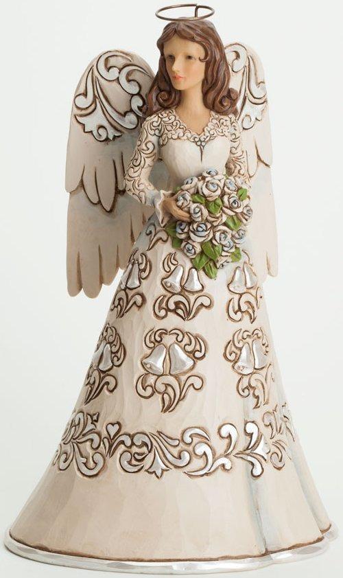 Jim Shore 4037684 Wedding Angel Figurine