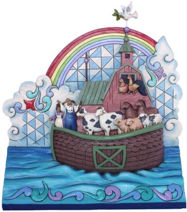 Jim Shore 4039476 Noah's Ark