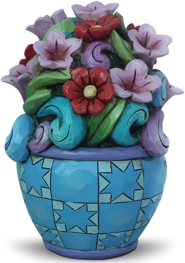 Jim Shore 4039479 Mini Flower Bouquet