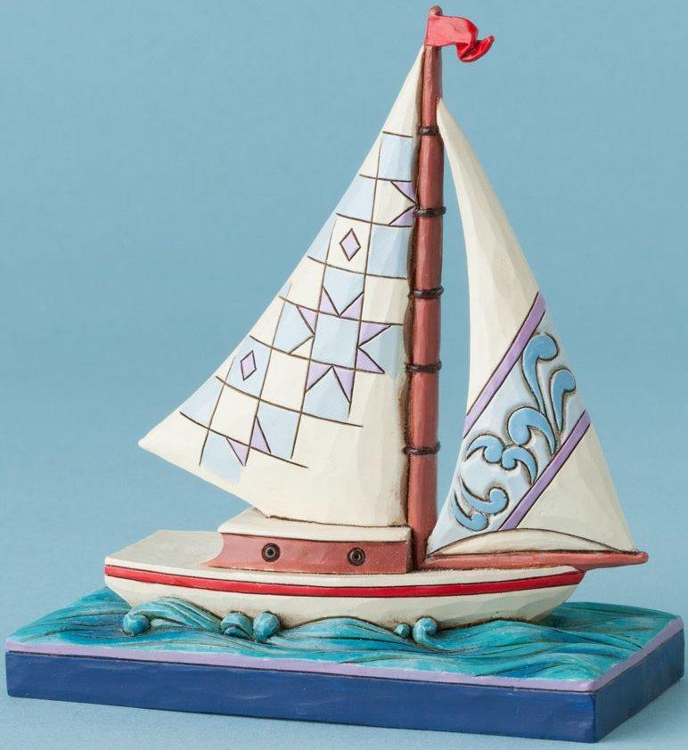 Jim Shore 4039482 Mini Sailboat