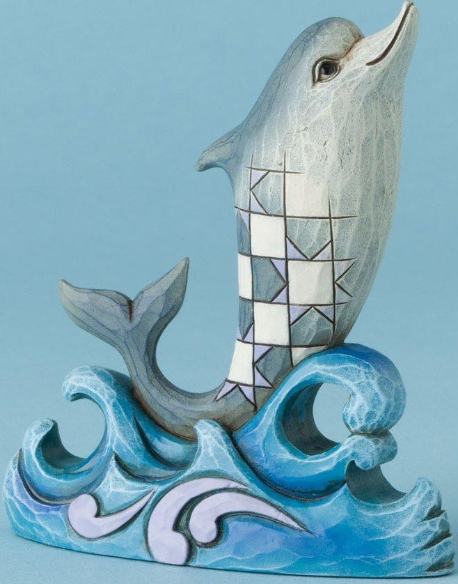 Jim Shore 4039484 Mini Dolphin