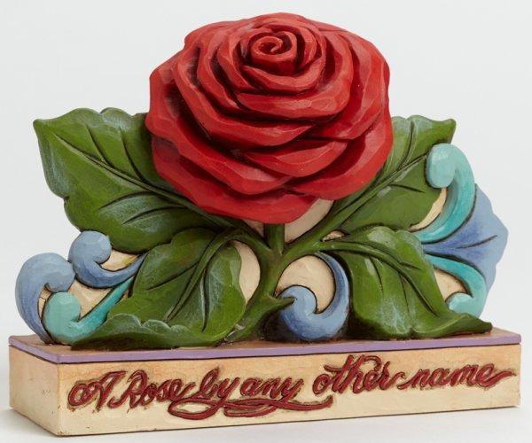 Jim Shore 4040536 Red Rose Figurine