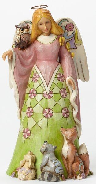 Jim Shore 4040547 Spring Woodland Ang Figurine