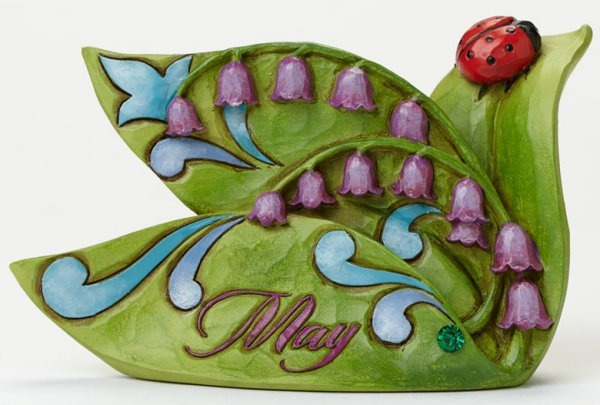 Jim Shore 4040659 May Flower Lily of Figurine
